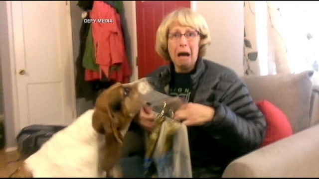 VIDEO: Mothers Ultimate Super Bowl Ticket Surprise