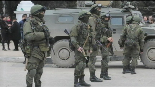 VIDEO: Russian Forces Officially Enter the Crimea Region of Ukraine