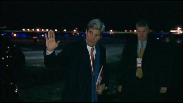 VIDEO: Kerry in Kiev to Try to Deescalate Ukraine Crisis