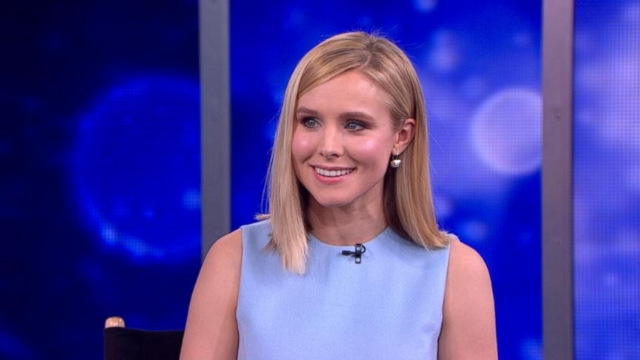 """VIDEO: The actress talks about crowd funding with Kickstarter to get the """"Veronica Mars"""" movie made."""