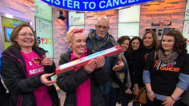VIDEO: Cross-Country Campaign to Stand Up To Cancer