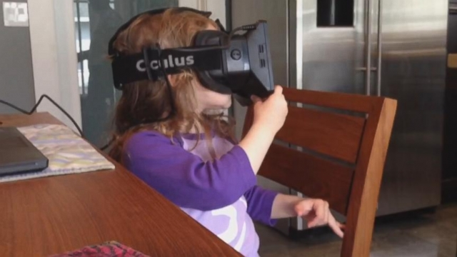 VIDEO: 3-Year-Old Goes to Space With Oculus Rift
