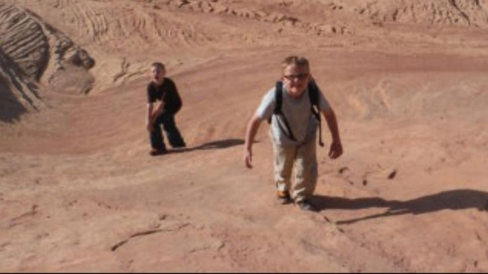 VIDEO: Jason Knight and his two sons were stranded for three days on Utahs Sandthrax Canyon.