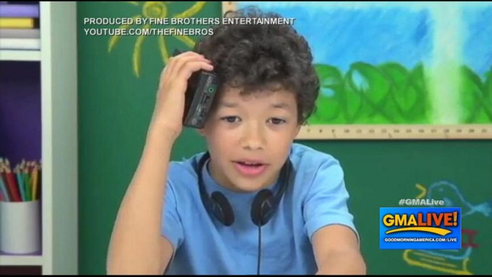 VIDEO: Walkman Perplexes Children