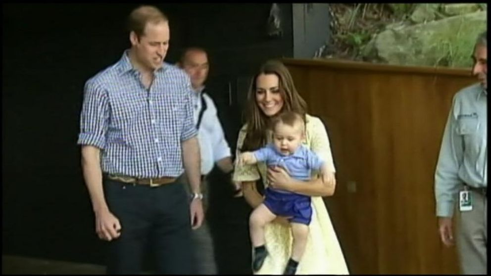VIDEO: Baby Georges Big Day at the Taronga Zoo