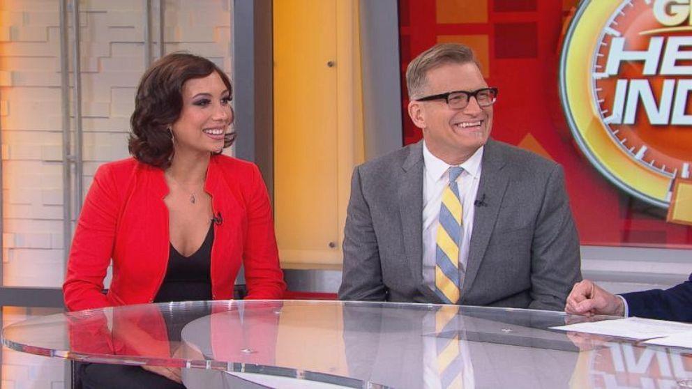 VIDEO: Drew Carey, Cheryl Burke Talk DWTS