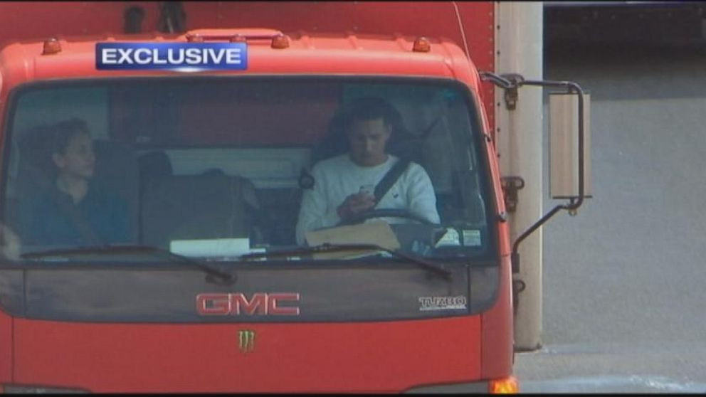 VIDEO: A hidden camera captured truck drivers apparently putting everyone on the road in danger.