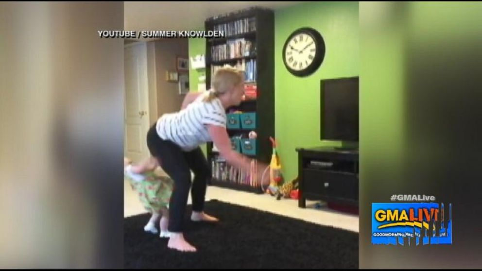 VIDEO: Dancing Mom Gives Toddler A Butt Bump