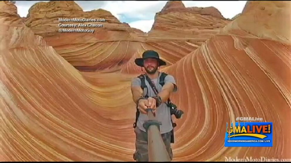 VIDEO: Epic Selfies Around the World
