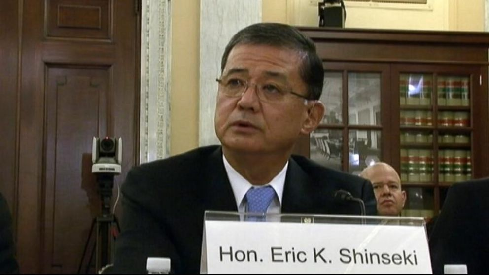 VIDEO: Eric Shinseki is called to Capitol Hill about allegations that VA hospitals made patients wait too long for care.