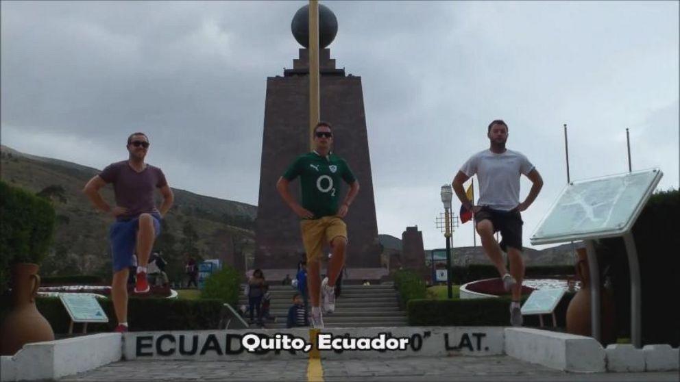 VIDEO: 3 Irish Men Dance Around the World