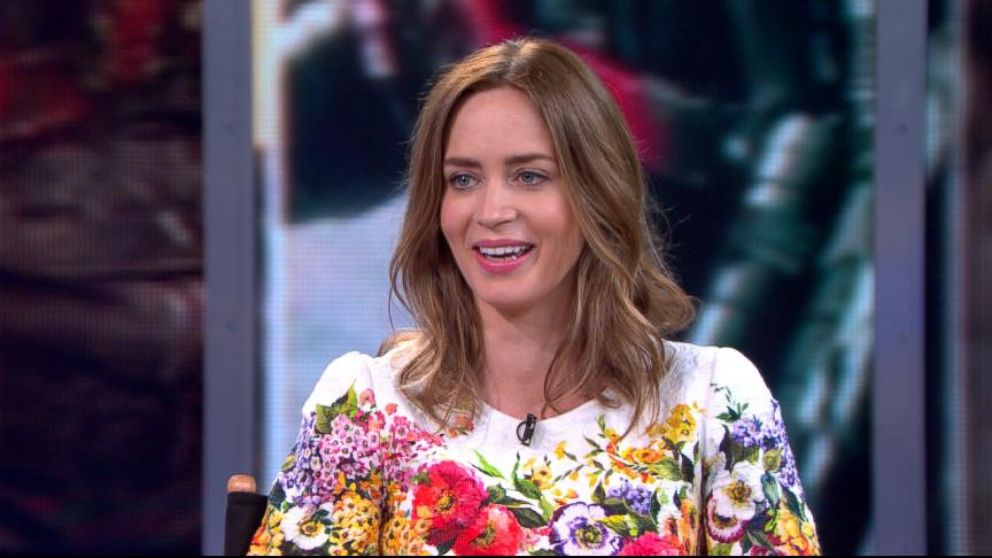 """VIDEO: The actress discusses her new role in the action blockbuster """"Edge of Tomorrow."""""""