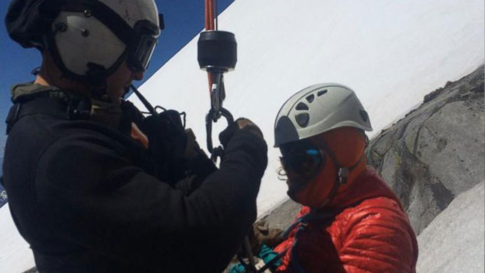 VIDEO: After her fall, Viviane Debros spent 18 hours seriously injured and awaiting rescue.