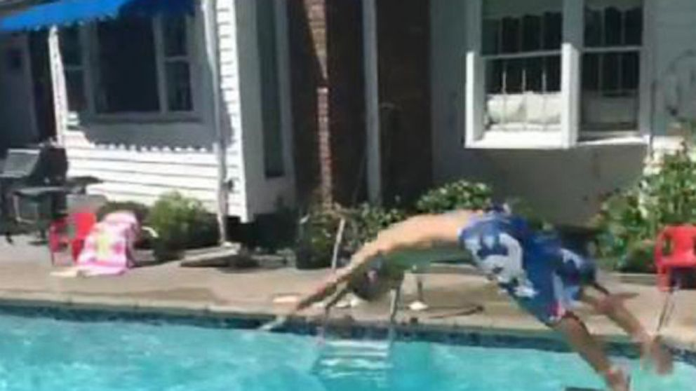 VIDEO: Magic Vine Pool Trick Goes Viral