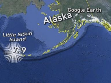 Tsunami Warning Downgraded After Earthquake Off Coast of Alaska
