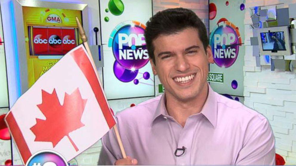 VIDEO: Celebrities Celebrate Canada Day