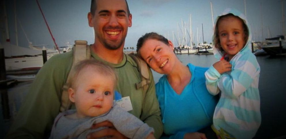 VIDEO: Eric and Charlotte Kaufman have been called irresponsible for bringing their young children on trip around the world.