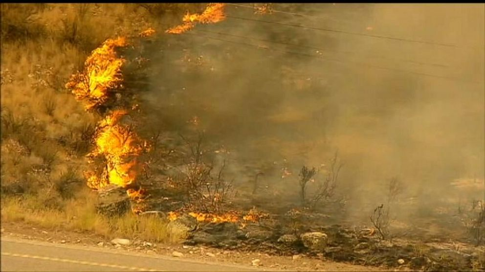 VIDEO: Washington State Wildfires Destroy Homes