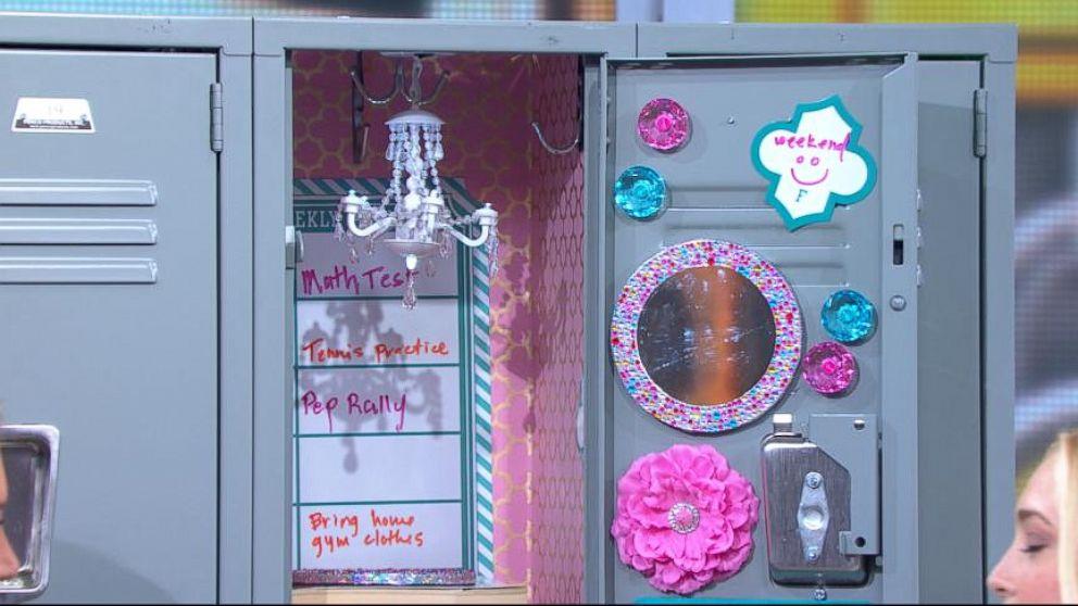 VIDEO: Seventeen magazines Jasmine Snow offers hot tips on having the hottest locker in school.