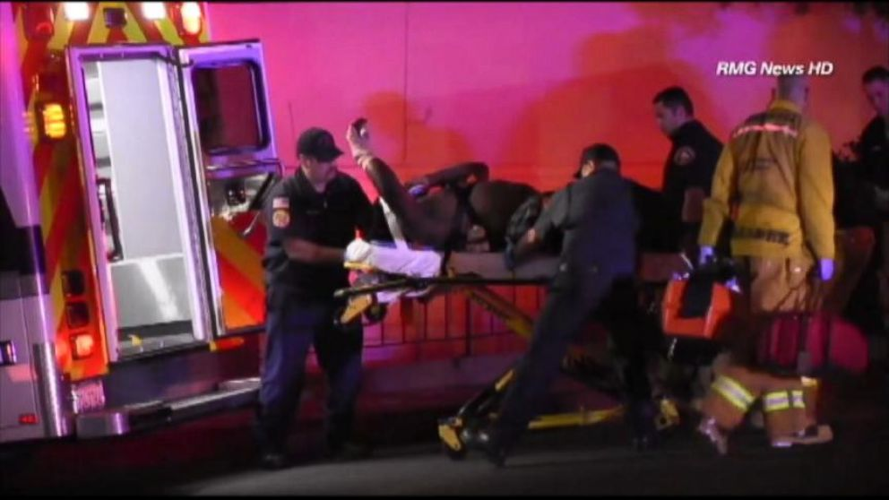 VIDEO: Brazen shooting at trendy Hollywood nightclub sends famed music producer to the hospital.