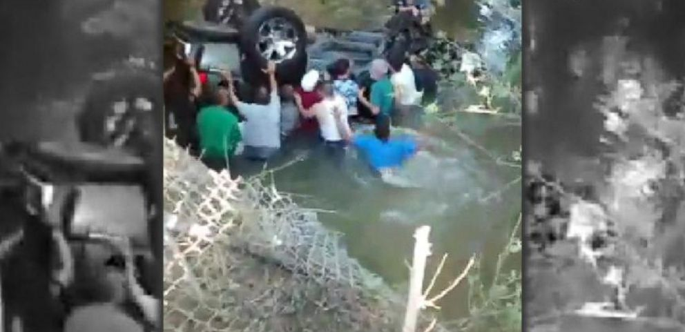 VIDEO: Bystanders Save Teens From Submerged SUV