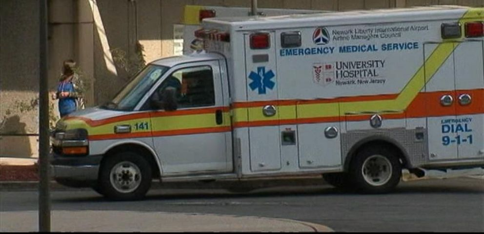 VIDEO: Ebola Scare at Newark Airport