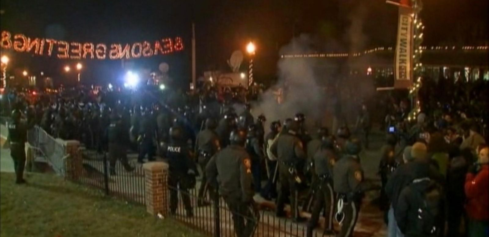 VIDEO: Overnight Fury in Ferguson, MO