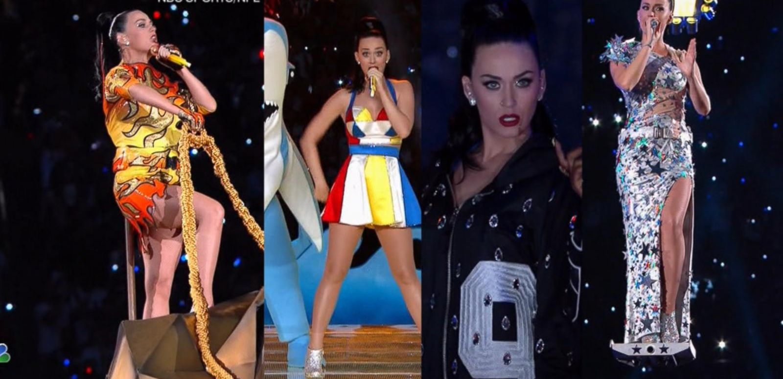 VIDEO: Find Out How Katy Perry Changed Seamlessly at Halftime