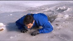 VIDEO: How You Can Survive a Potentially Deadly Fall Through Ice