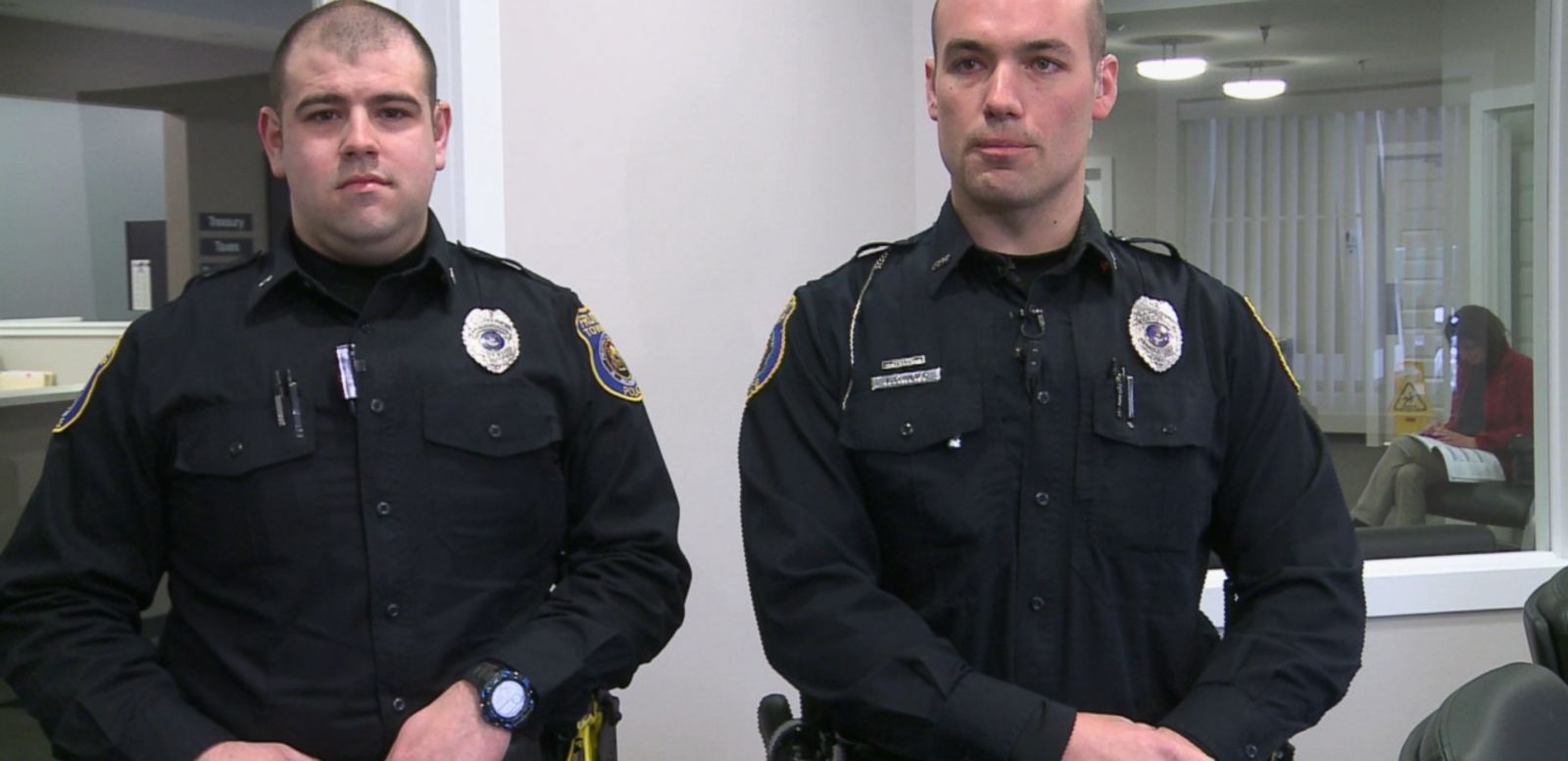 VIDEO: The Michigan officers determined the family didnt have money to buy a seat on their own.