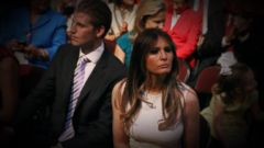 VIDEO: Melania Trump Sparks Intrigue as Potential First Lady