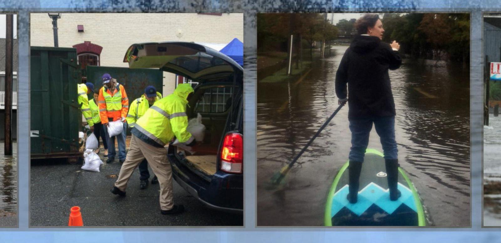 VIDEO: Historic Rainfall, Flooding to Hit the East Coast