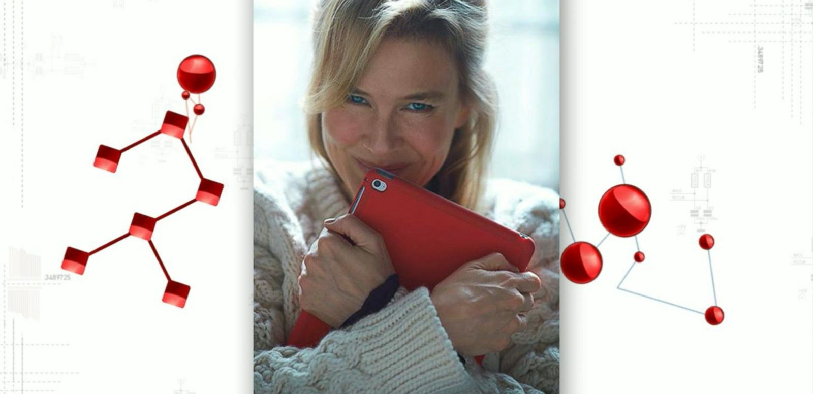 VIDEO: Bridget Jones Updates Diary With Her Apple iPad
