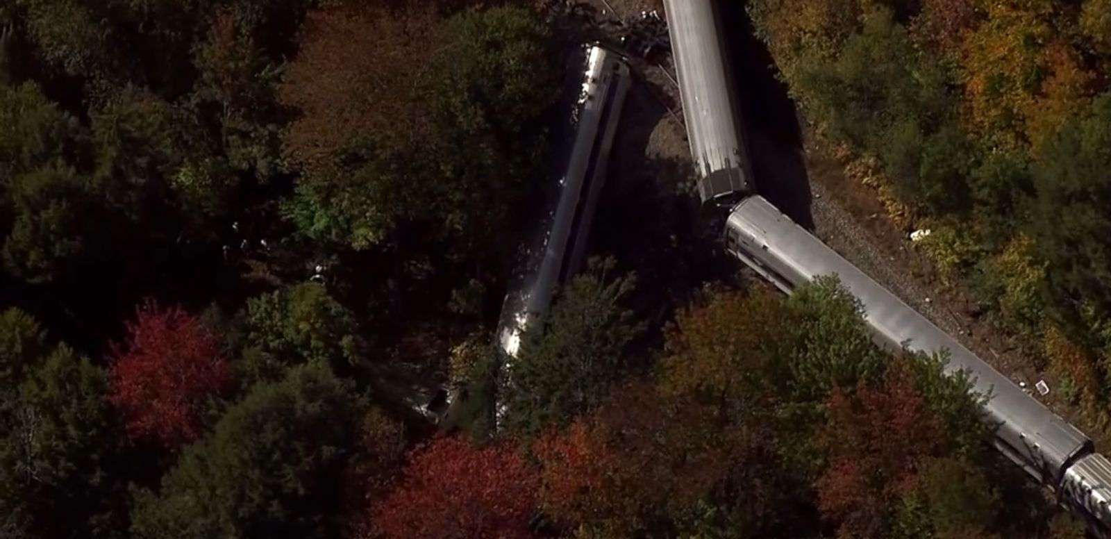 VIDEO: Gov. Peter Shumlin describes the passengers' climb to safety after the train derailed over an embankment.