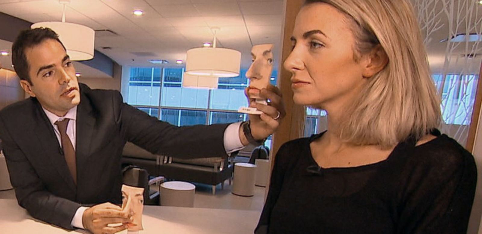 VIDEO: Fixing Facial Flaws With New Technology