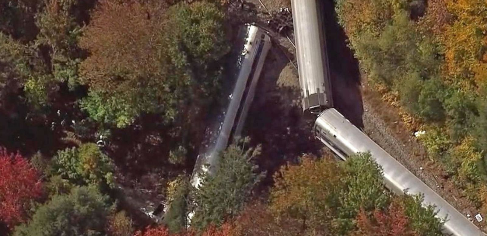 VIDEO: No Deaths Reported in Vermont Amtrak Derailment