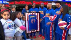 VIDEO: Harlem Globetrotters Take Over GMA!