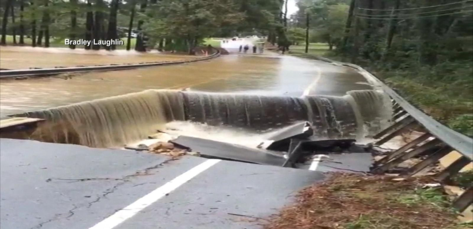 VIDEO: Officials Assess Damage After South Carolina Flooding