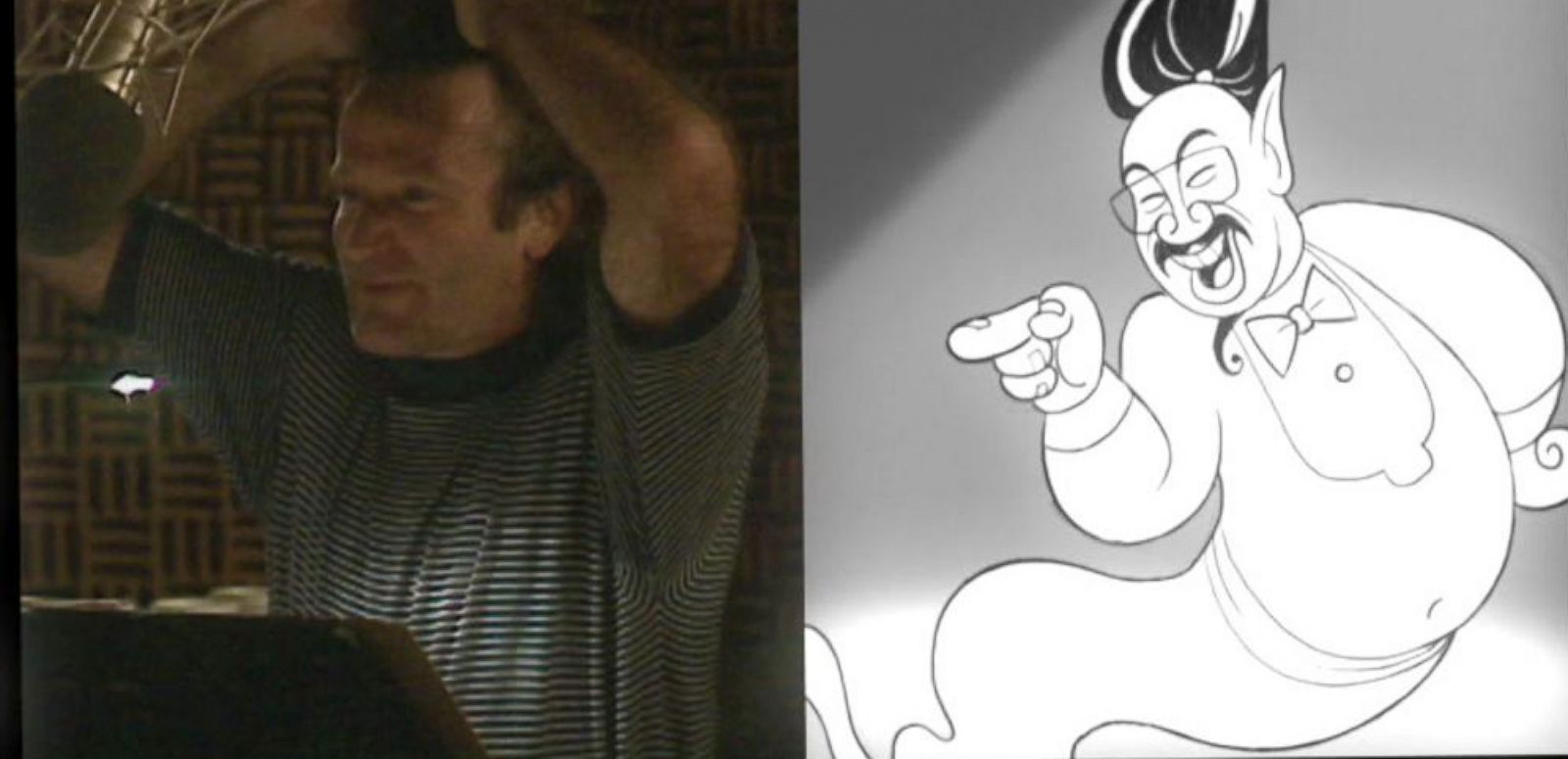 VIDEO: Never-Before-Seen Outtakes of Robin Williams in 'Aladdin'