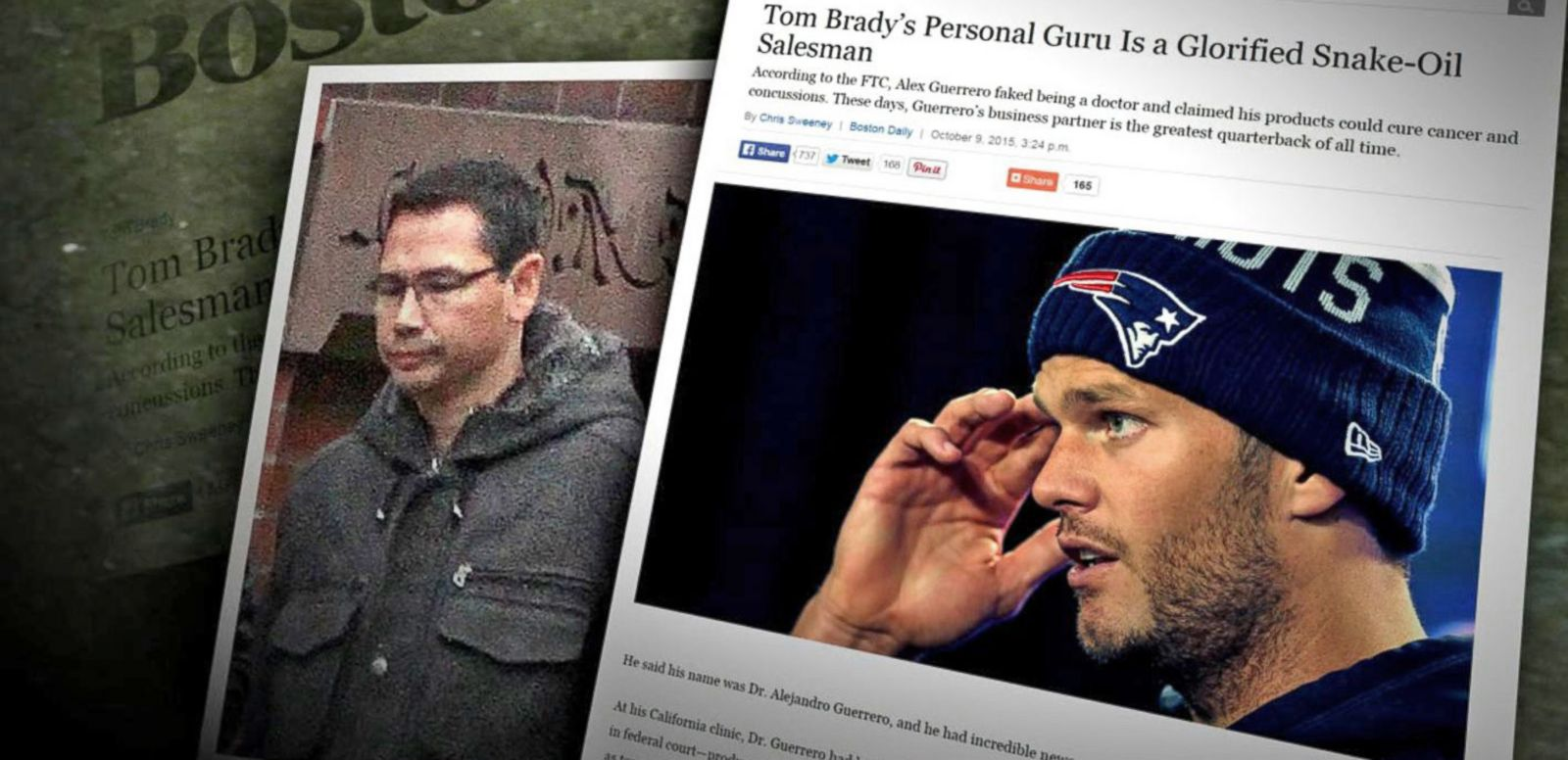 VIDEO: Tom Brady Defends Controversial Trainer