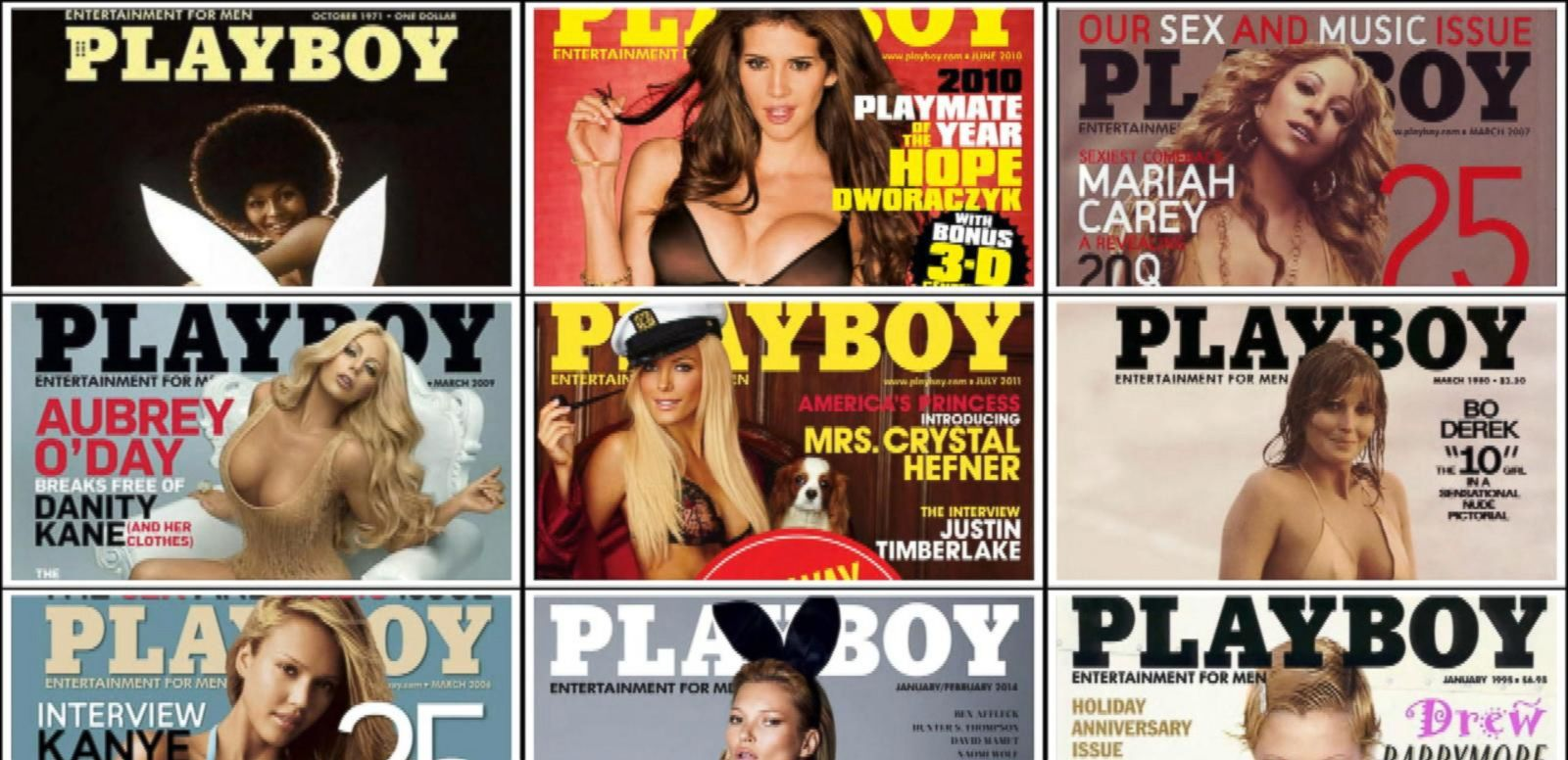 VIDEO: Playboy Drops Fully Nude Pictures From Its Print Editions