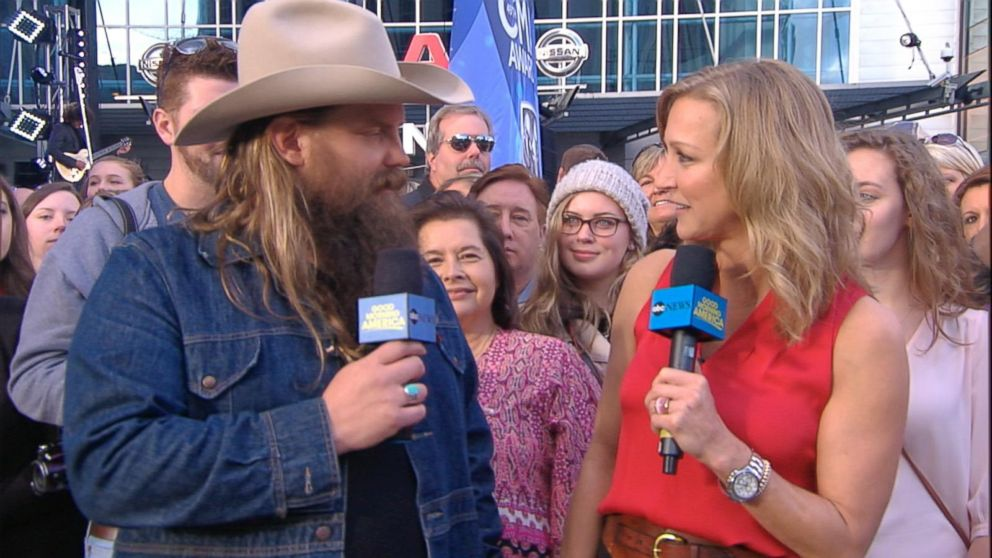 Cma nominated country star chris stapleton discusses his for How many kids does chris stapleton have