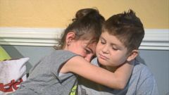 VIDEO: David Spisak Jr., 8, finds comfort in classmate Ayla, 7, as he battles a fourth round of cancer.
