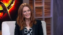 VIDEO: Julianne Moore on Filming Final The Hunger Games""