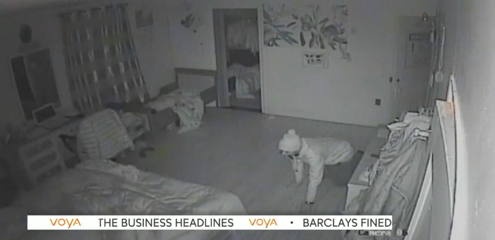 Burglar Crawls Into NYC Bedroom