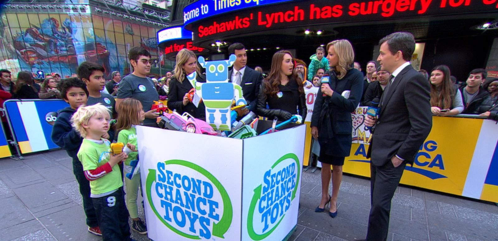 VIDEO: Second Chance Toys Recycles Plastic Toys to Give to Kids in Need