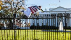VIDEO: White House Lawn Locked Down Over Fence Jumper