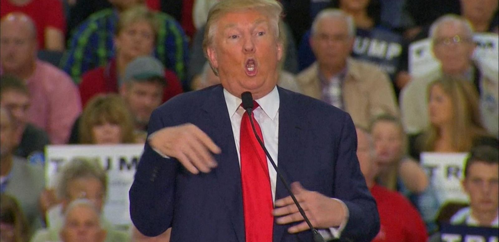 VIDEO: Donald Trump Accused of Mocking Reporter with Disability