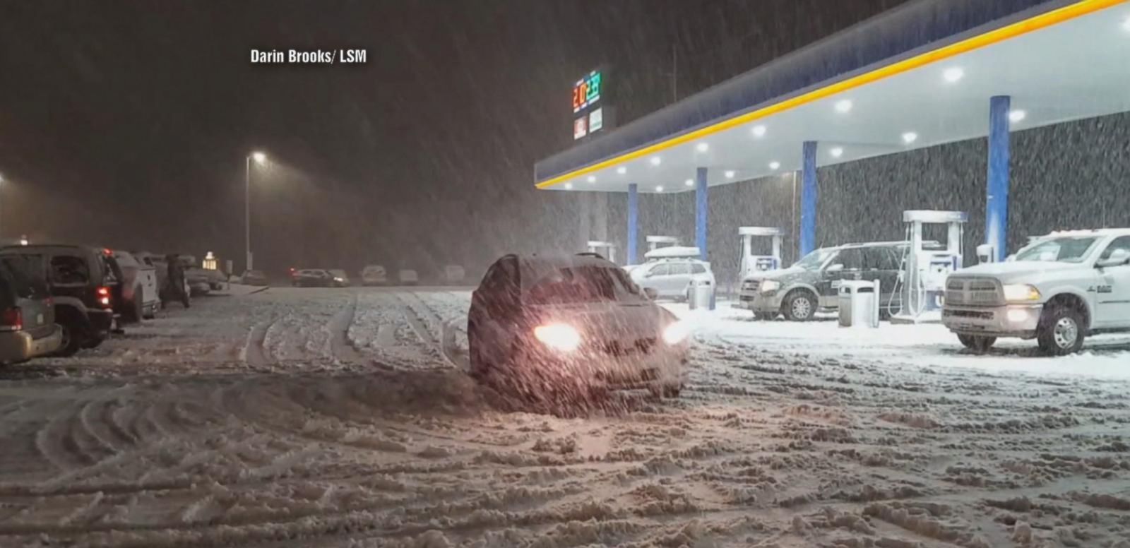 VIDEO: Flash Floods, Heavy Snow Slow Thanksgiving Travel