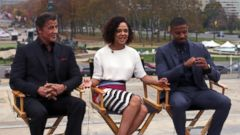 VIDEO: On Location With the Stars of Creed